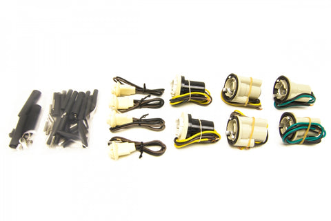 30351 GM Pickup Socket Pigtail Kit, Single Square Headlights