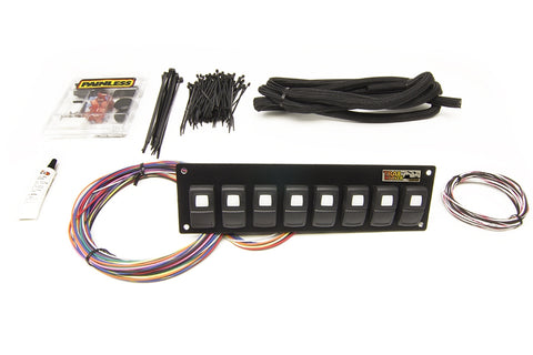 57101 Trail Rocker 8 Switch Panel In Dash Mount