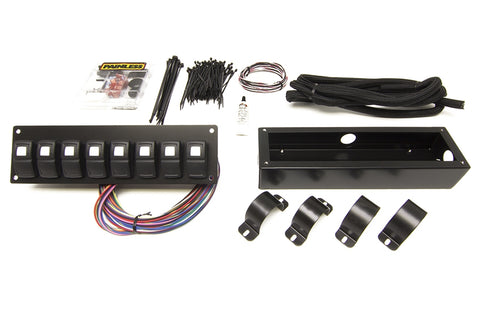 58102 Track Rocker 8 Switch Panel, Roll Bar Mount