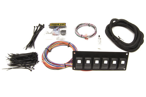 58104 Track Rocker - 6 Switch Panel - In Dash Mount