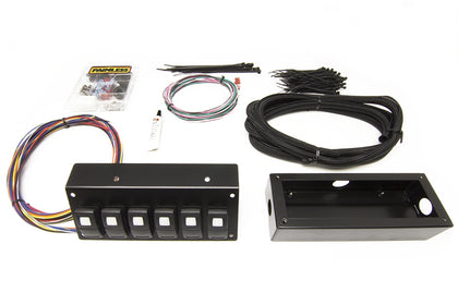 58106 Track Rocker - 6 Switch Panel - Flange / Under Dash Mount