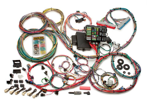 60608 1997-2004 GM LS1/LS6 Integrated EFI & Chassis Harness - Mechanical TB