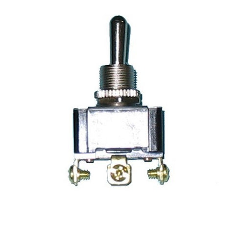 80512 Heavy Duty Toggle Switch - On/Off/On, Single Pole, 20 Amp