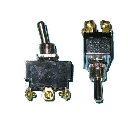 80514 Heavy Duty Toggle Switch - On/Off/On, Double Pole, 20 Amp