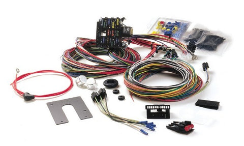 10102 21 Circuit Universal Streetrod Harness w/ Non GM Keyed Column
