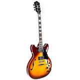 New GROTE BRAND Semi-Hollow Body Electric Guitar GRWB-VS35
