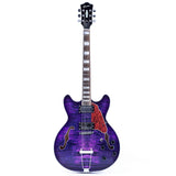 GROTE 335 style Semi-Hollow Body Jazz Electric Guitar XK335-PU01