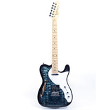 GROTE Telecaster style Semi-Hollow Body Electric Guitar XKTL-BK01
