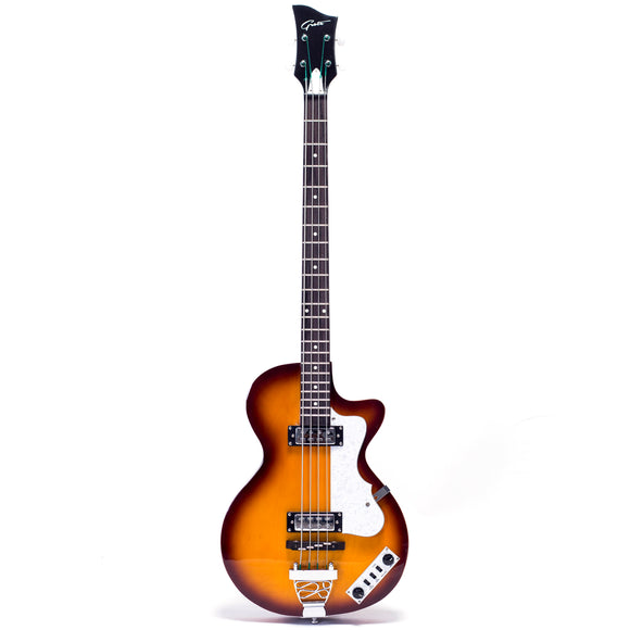 Grote 4 strings LP Hollow Body Electric Bass Guitar LPB-001