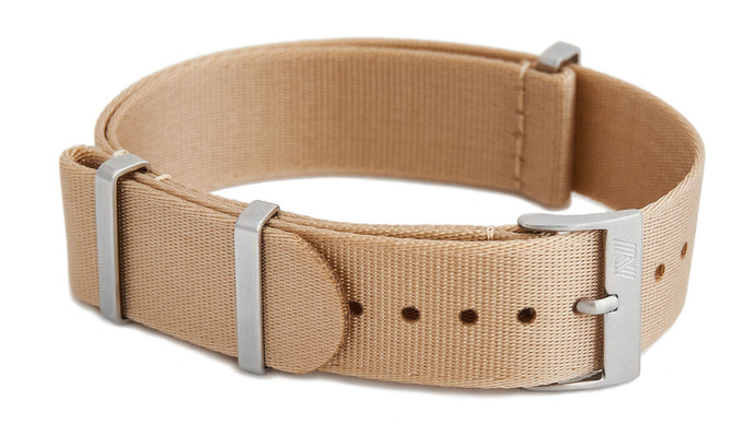 Beige nato strap by Phenomenato