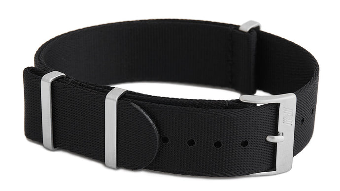 Black nato strap by Phenomenato