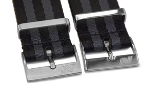 HD Bond nato strap by Phenomenato - buckle