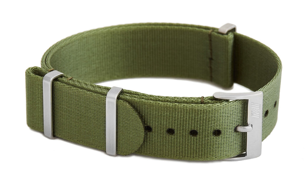 Olive green nato strap by Phenomenato
