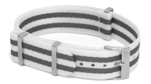 White Bond nato strap by Phenomenato