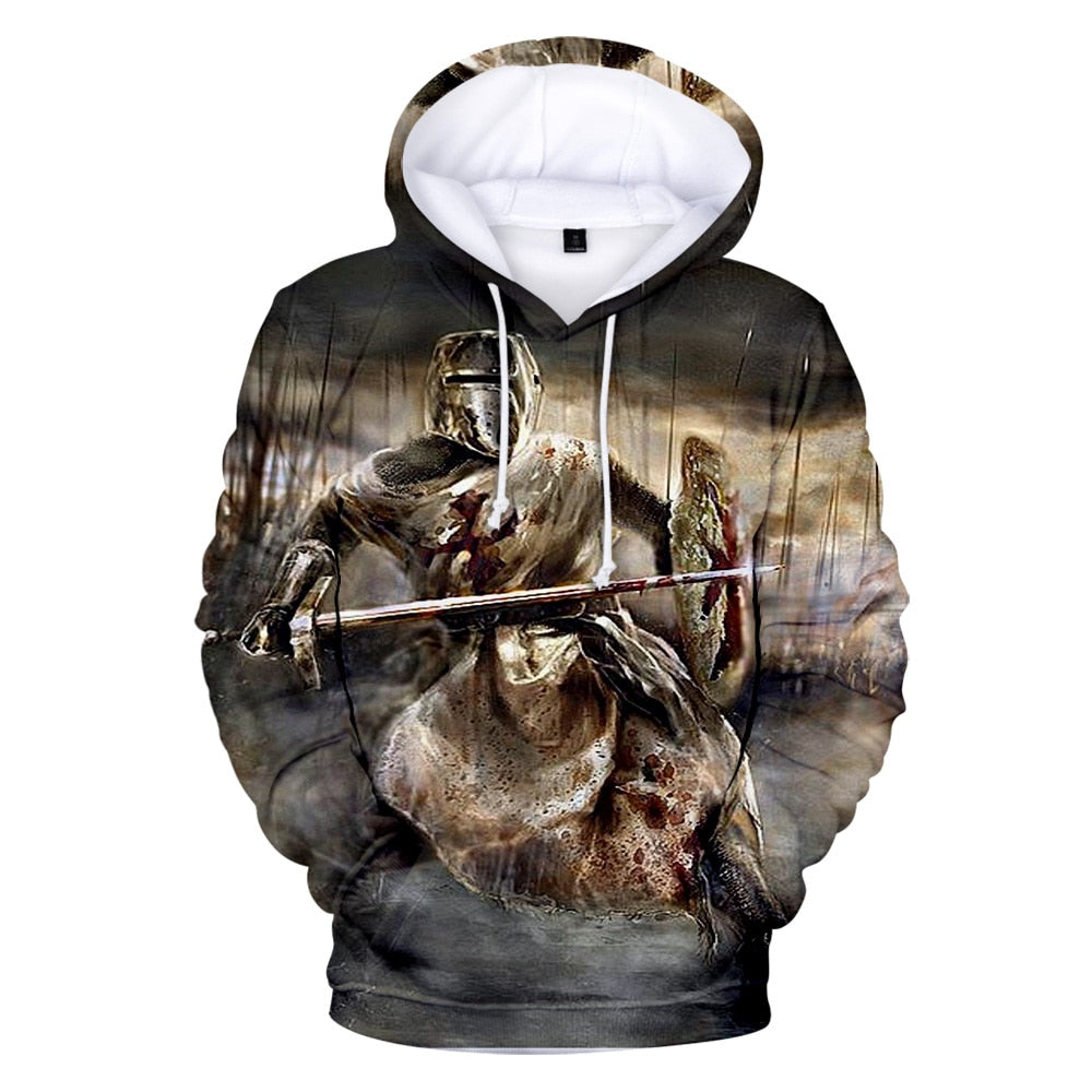 The Knight in the Swamp Hoodie