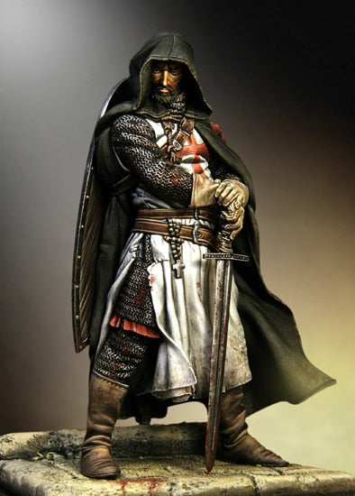 The Crusader Warrior with Hood Model (Unassembled/Unpainted)