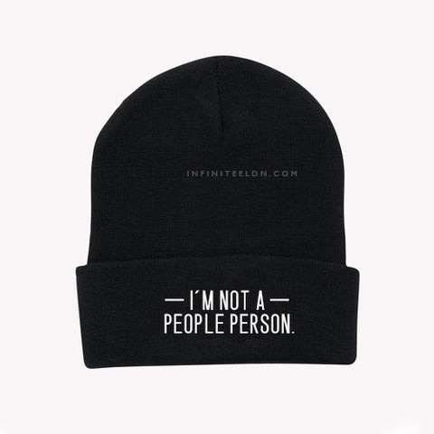 I'm not a people person Beanie