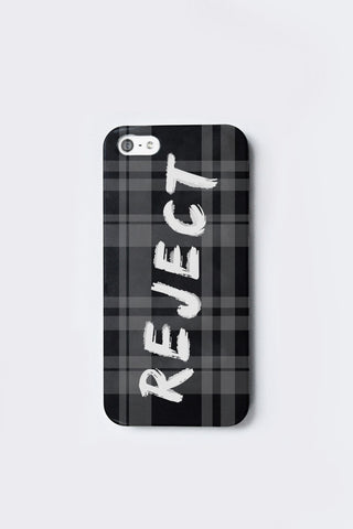Reject Plaid Phonecase