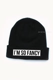 I'm So Fancy Beanie