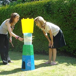 Giant kerplunk Cannonball Drop to Hire - Games2Hire
