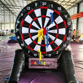 Giant Inflatable Dart Board Hire - Games2Hire