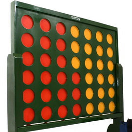 Wooden Giant Connect 4 to Hire - Games2Hire