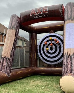 Giant Inflatable Axe Throwing Hire - Games2Hire