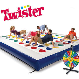 Giant Inflatable Twister Hire - Games2Hire