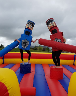 Gladiator Inflatable Hire - Games2Hire