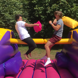 Joust Pillow Bash Inflatable for Hire - Games2Hire