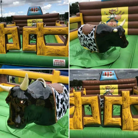 Bucking Bronco Rodeo Bull To Hire - Games2Hire