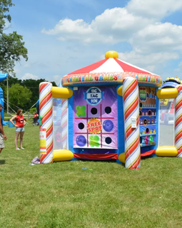 Giant Inflatable 5 In 1 Fair Game Hire - Games2Hire
