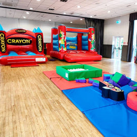 Crayon Bouncy Castle Hire - Games2Hire