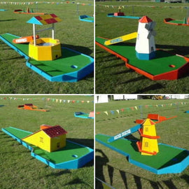 Crazy Golf Hire - Games2Hire