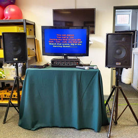 Full Karaoke Set Equipment Hire - Games2Hire