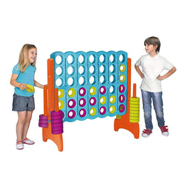 Giant Indoor + Outdoor Connect 4 In a Line Hire - Games2Hire