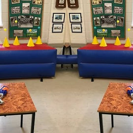 Giant Inflatable Nerf Shootout Fun Game Hire - Games2Hire