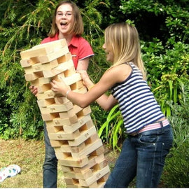 Giant Jenga Hire - Games2Hire