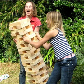 Giant Jenga Outdoor / Indoor Hire - Games2Hire