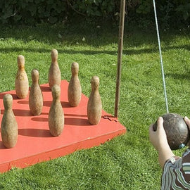 Giant Pub Skittles Hire - Games2Hire