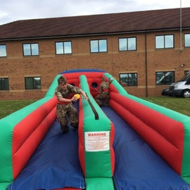 Inflatable Bungee Run Hire - Games2Hire