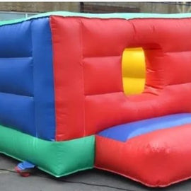 Inflatable Toddlers Cube Bouncy Castle Hire - Games2Hire