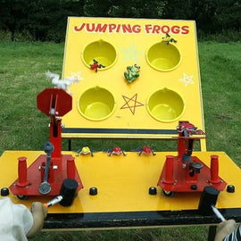 Jumping Frogs Game Hire - Games2Hire