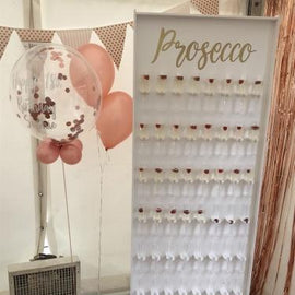 Large Prosecco Wall Hire - Games2Hire