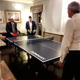 Large Table Tennis Table Hire - Games2Hire