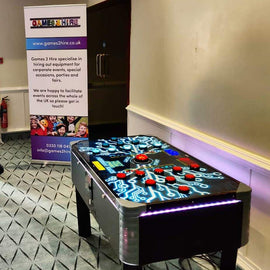 Neuron Race Reaction Game Machine Hire - Games2Hire