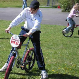 Outdoor Unrideable Bikes Hire - Games2Hire