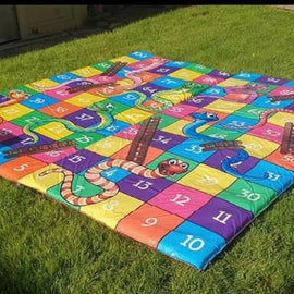 Giant Snakes & Ladders Hire - Games2Hire