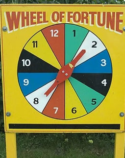 Wheel of Fortune Hire - Games2Hire