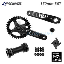 Load image into Gallery viewer, Prowheel MTB 104BCD Crankset 170/175mm 30-38T with Bottom Bracket